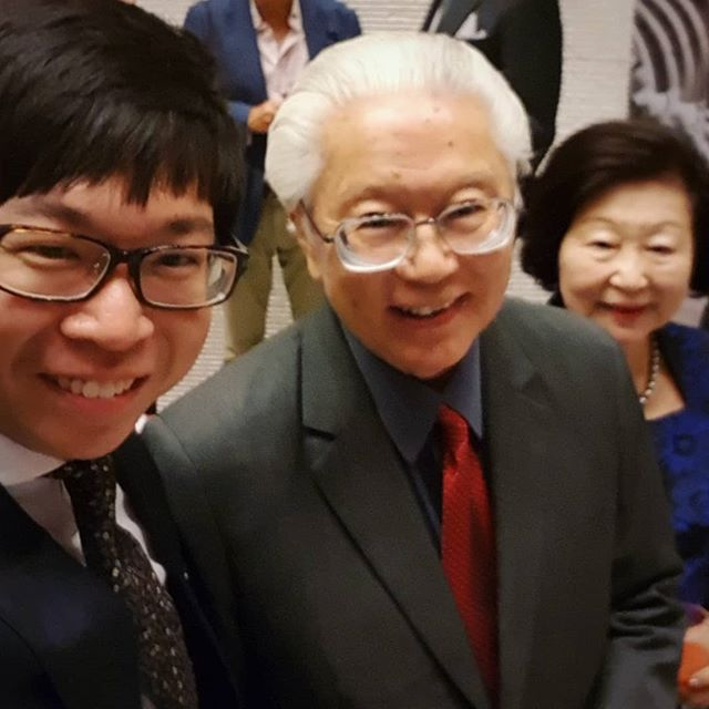 Back in 1999, the former President of Singapore Dr. Tony Tan envisioned a music school in NUS, which eventually became my alma mater @ystconservatory. His gift of foresight has made it possible for hundreds of us to pursue our dreams 🎼🎵🎺 #brahms #academicfestivaloverture #yongsiewtohconservatoryofmusic #ystcm #nus