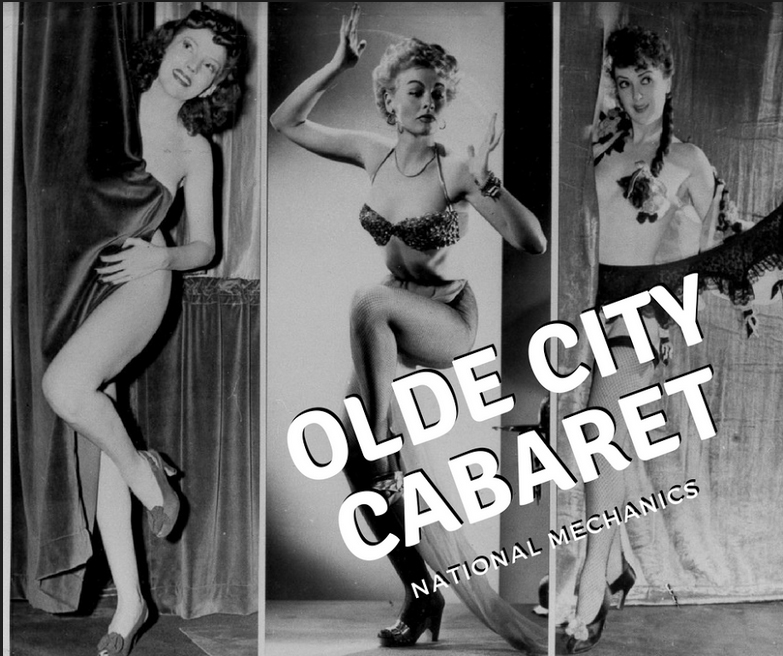 Old City Cabaret Show:Burlesque Show every Second Sunday of Each Month at 7pm - Olde City Cabaret returns with a diverse and delightfully inclusive burlesque revue. This time it's at National Mechanics - Envoûté: Magic Burlesque's first venue ever...We can't wait to see you!Learn More