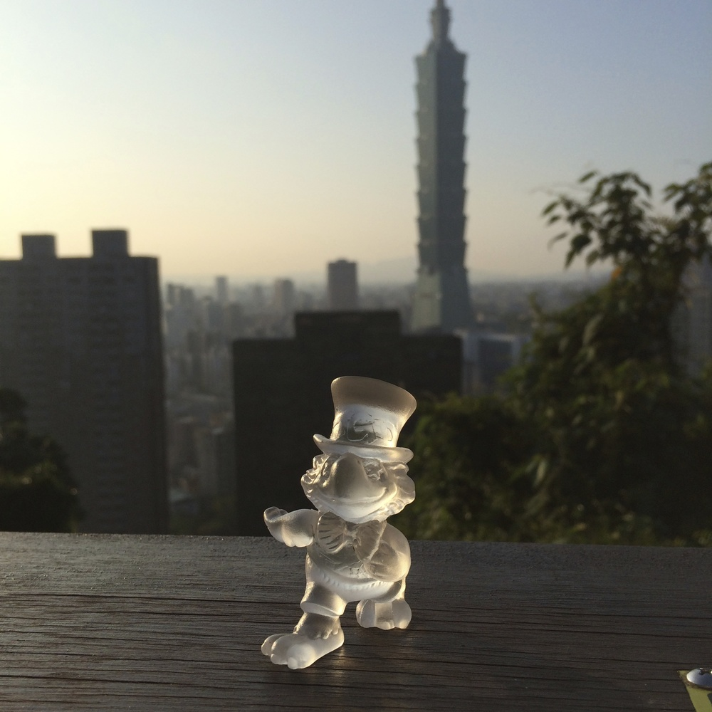 climbing elephant mountain, taipei, taiwan