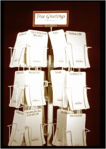 True Greetings--Card Rack,  2003