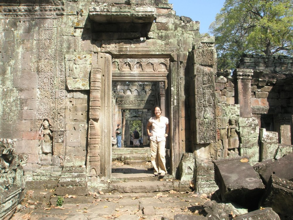 On the Grand Tour, Angkor Archaeological Park, Cambodia