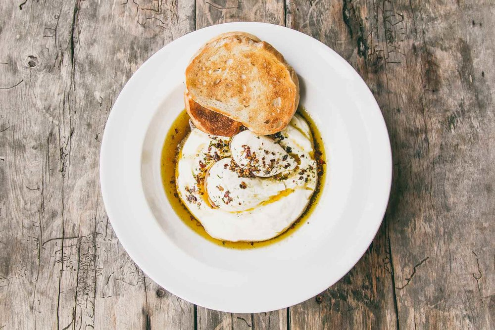 Turkish Poached Eggs