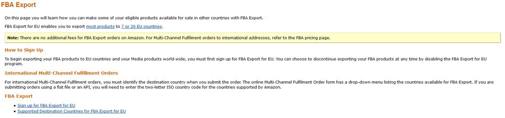 FBAExportEurope