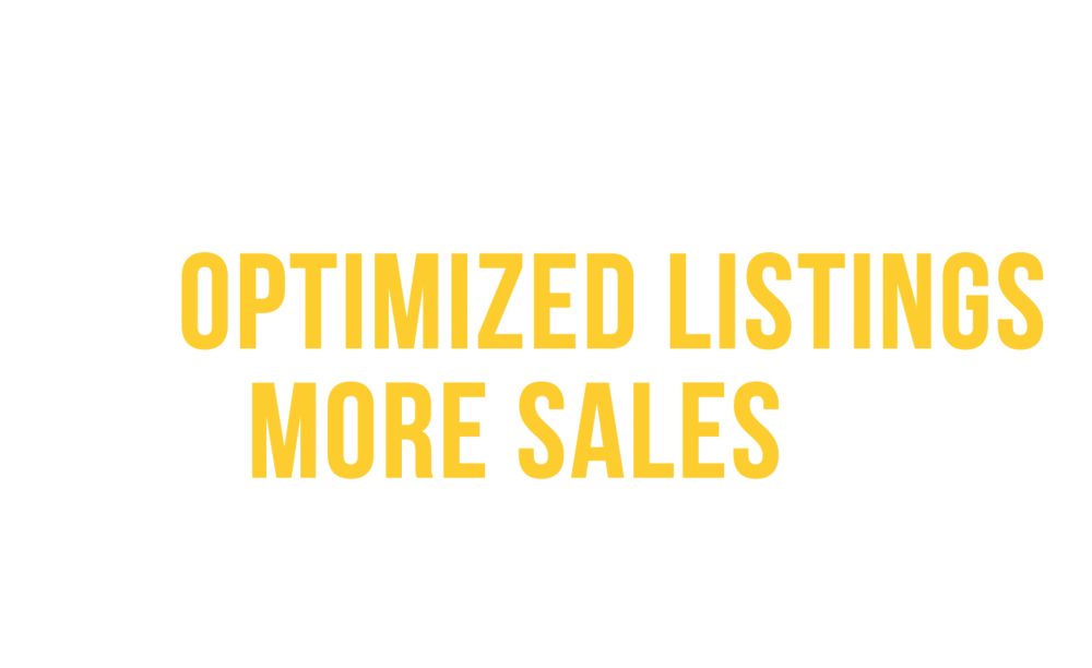 The blueprint to optimized listings and more sales on Amazon