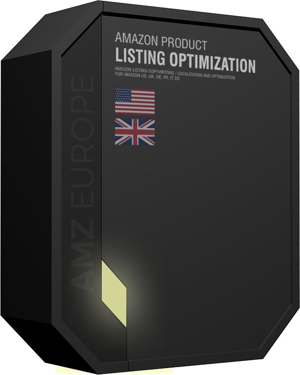Amazon product listing optimization US UK