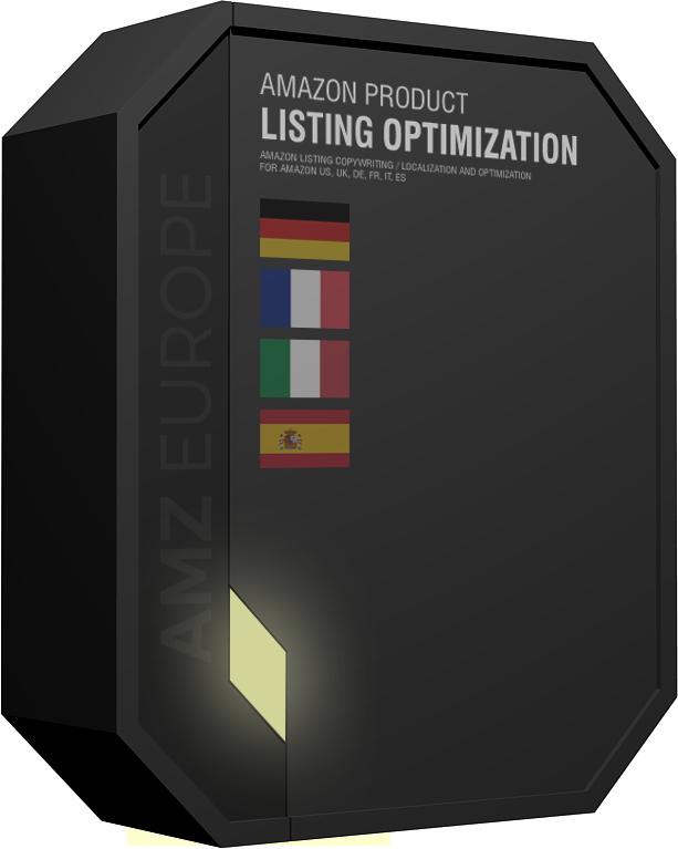 Amazon product listing optimization German France Italy Spain