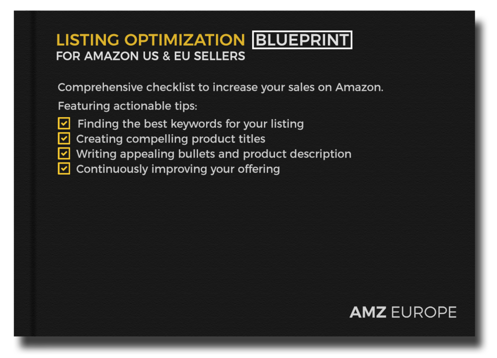 Listing optimization blueprint