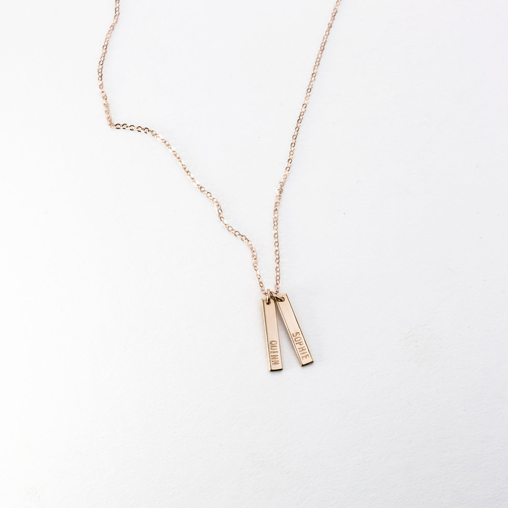GLDN Minimal Name Necklace,  ONO