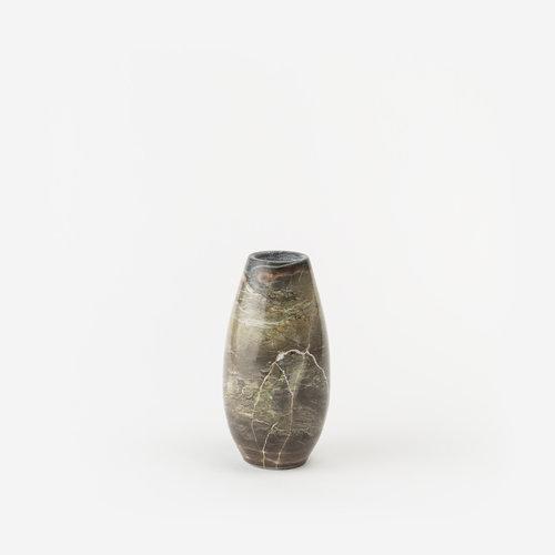 Small Natural Stone Vase B2 Gldn