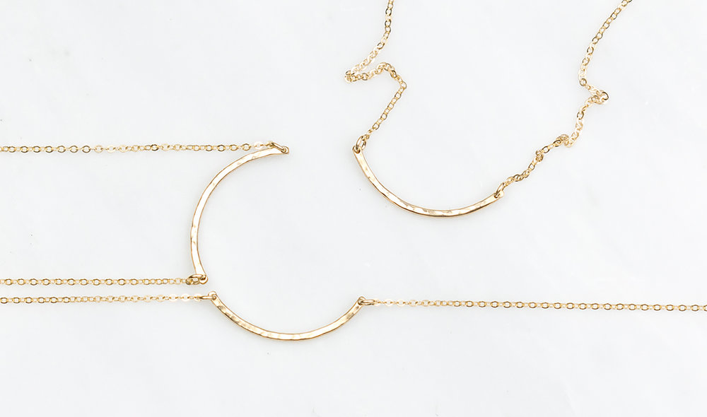 Mother Daughter  Necklaces  (set of 3 shown here).