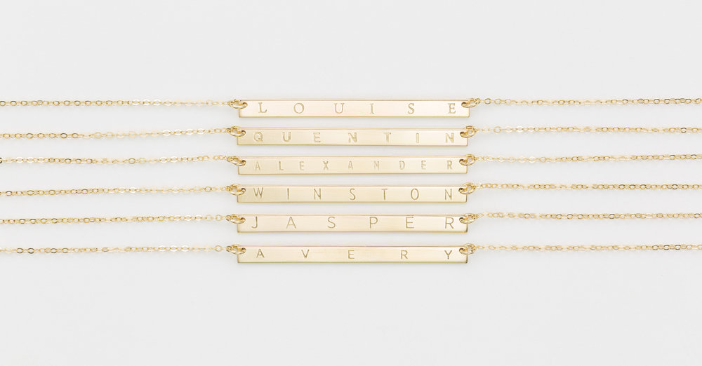 Shop Personalized Bars