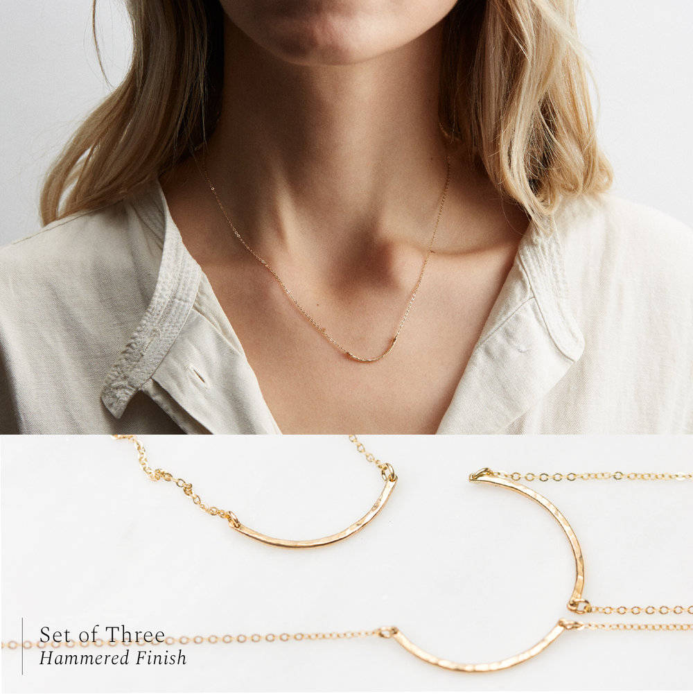f51beea02e8d5f Circle Friendship Necklace Sets — GLDN