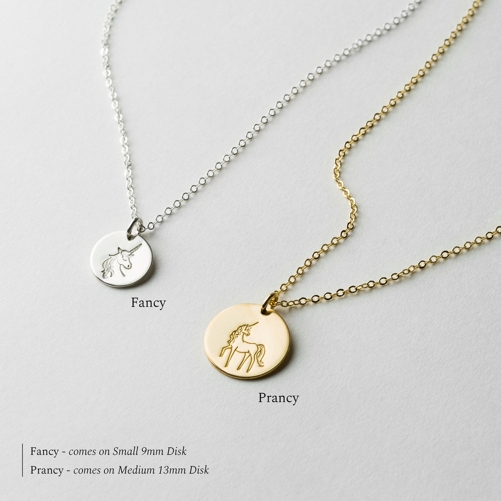 silver women cute for small new clavicle wish item simple fashion necklace make gold unicorn plated color