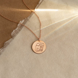 Shop all jewelry gldn la femme collection toujours pendant necklace aloadofball Choice Image