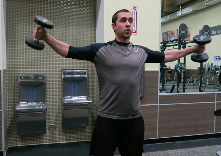 in-home trainer lateral raises