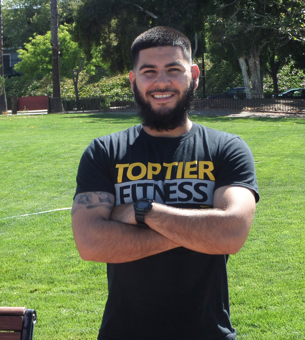 Personal Trainer Walnut Creek Ruben Jimenez