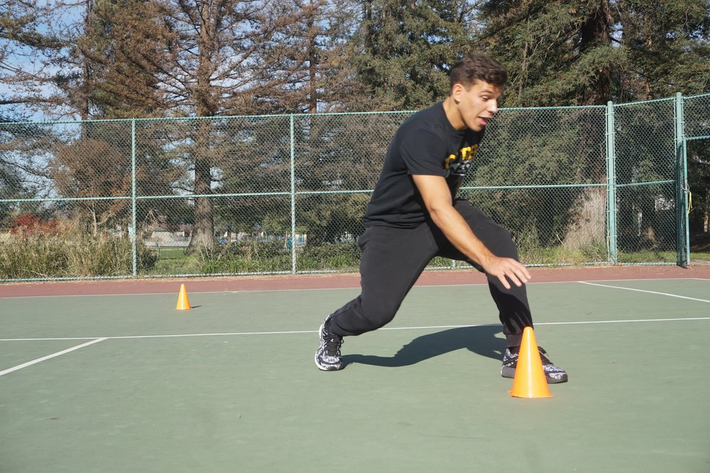 Jason Workout San Jose cone drill