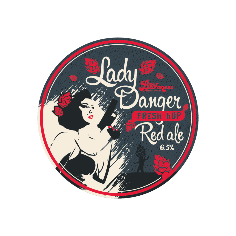 DD003410 Beer Baroness Fresh Hop Lady Danger Tap Badge Supply-cropped.png