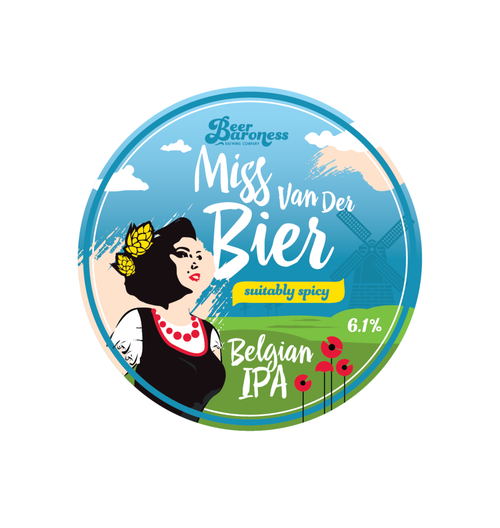 DD003032 Beer Baroness Miss Van Der Bier Tap Badge Supply 2-01.png