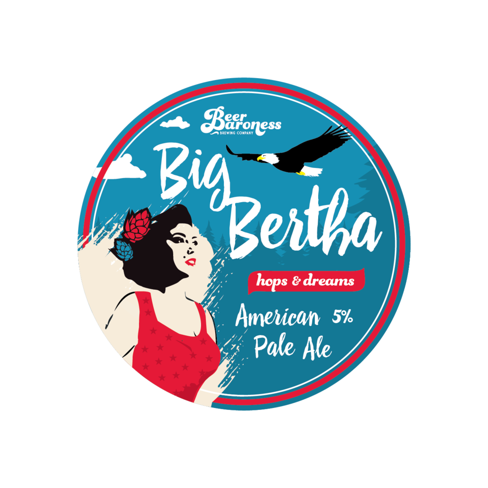 DD003900 Beer Baroness Big Bertha Tap Badge Cropped-01.png
