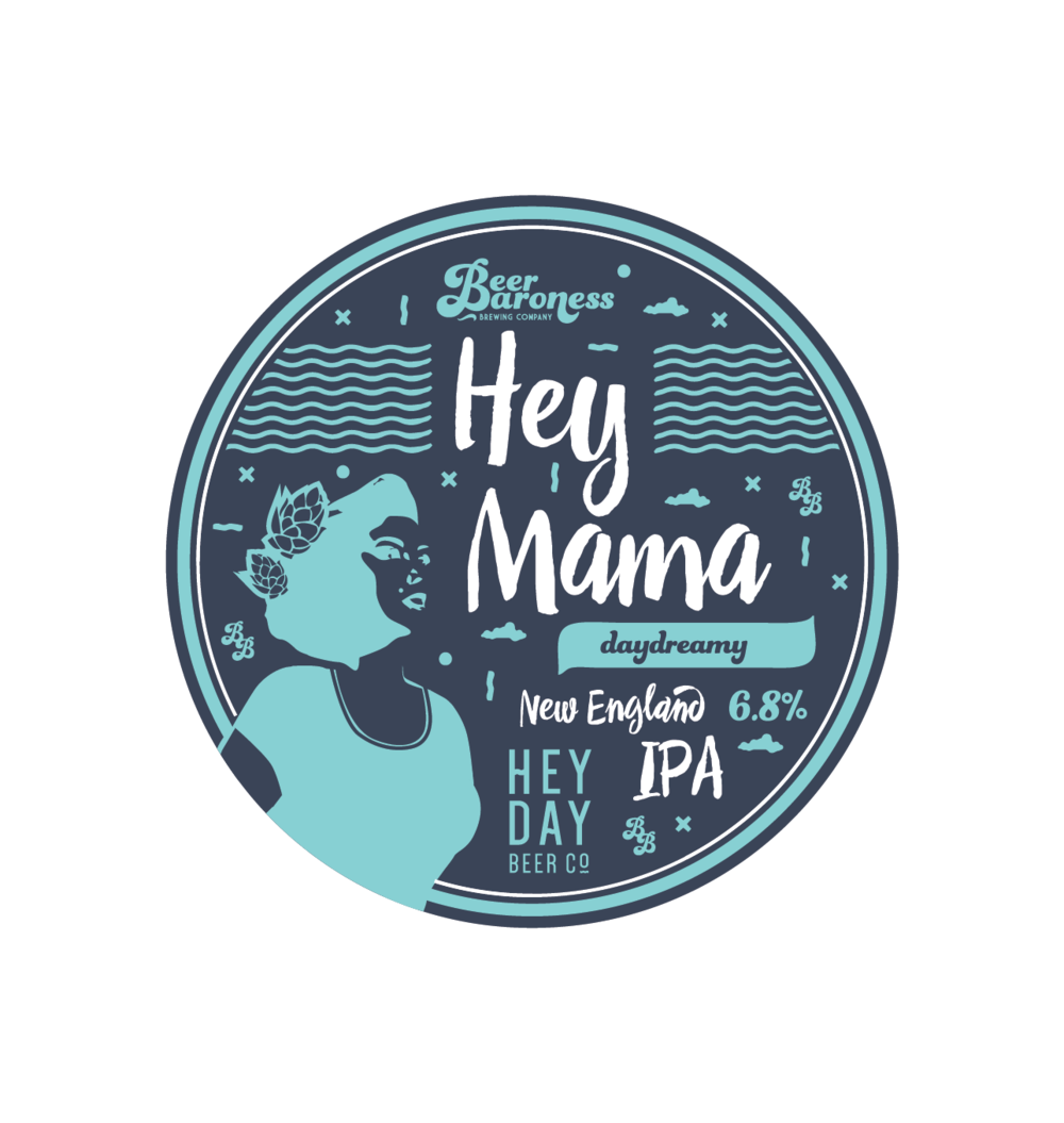 DD004024 Beer Baroness Hey Mama Tap Badge Supply T2P Cropped.png