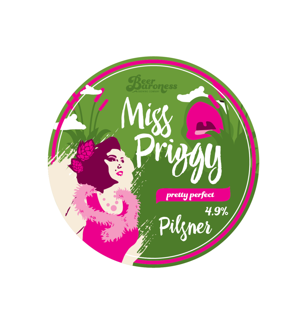 DD004032 Beer Baroness Miss Priggy Tap Badge Supply 3.png