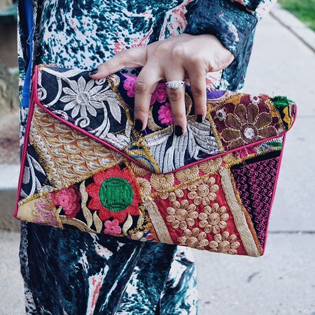 Get your desi on 🔥 Search: Multi-Patch Work Purse $20 | Link in bio ✨
