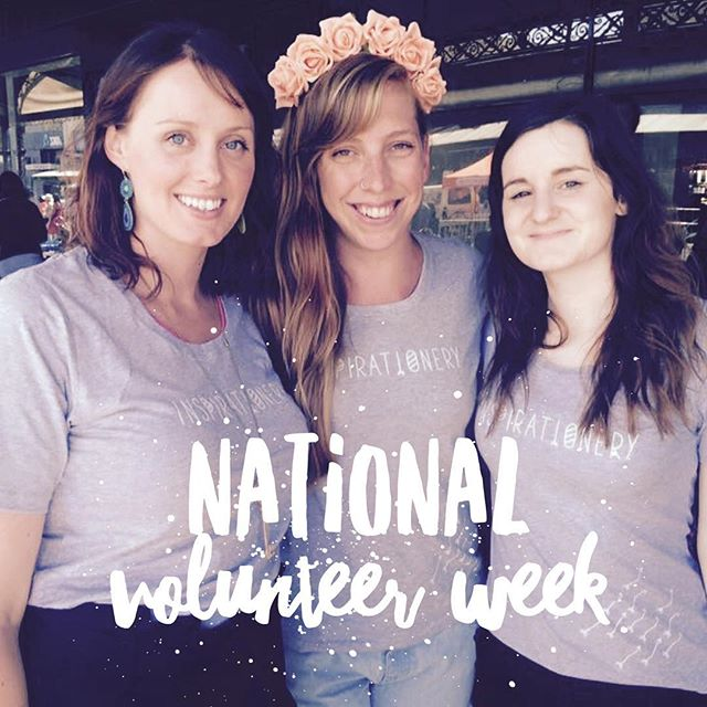 Did you know that it's #NationalVolunteerWeek? These are the awesome #girlboss women who have worked tirelessly behind the scenes to help bring @inspirationery to life over the last year. Please join me in a round of applause for their amazing work! 👏👏👏 If you want to join our team send us an email to hello@inspirationery.co with how you'd like to help!  #Inspirationery #stationery #inspirationalstationery #socialgood #forpurpose #inspired #dogood #socent #volunteer #joinus  #education #girlseducation #womensempowerment #grey