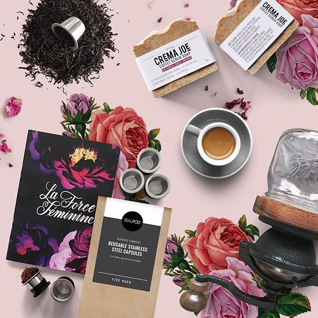 Loving this beautiful photo from Crema Joe! If your mum loves a good coffee get her some reusable eco-friendly capsules from Cremajoe this Mother's Day and you'll receive a free La Force Feminine notebook from Inspirationery while stocks last! Available now at www.cremajoe.com.au #coffee #ecofriendly #ecocapsules #stationery #mothersday #mumsday #mum #socent #socialenterprise #empoweringwomen #makeyourmark