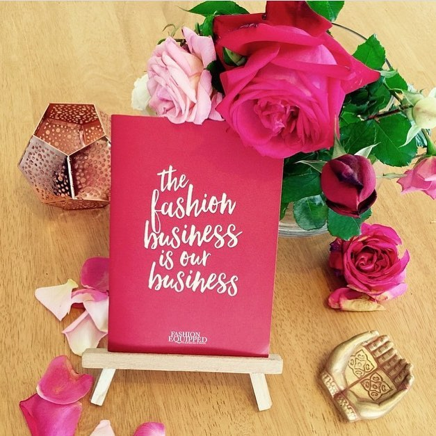 How gorgeous are these notebooks we've made for our friends at @fashionequipped!  #inspirationery #print #notebooks #fashion #makeyourmark #girlseducation #feminism #stationery #australianmade #ethical