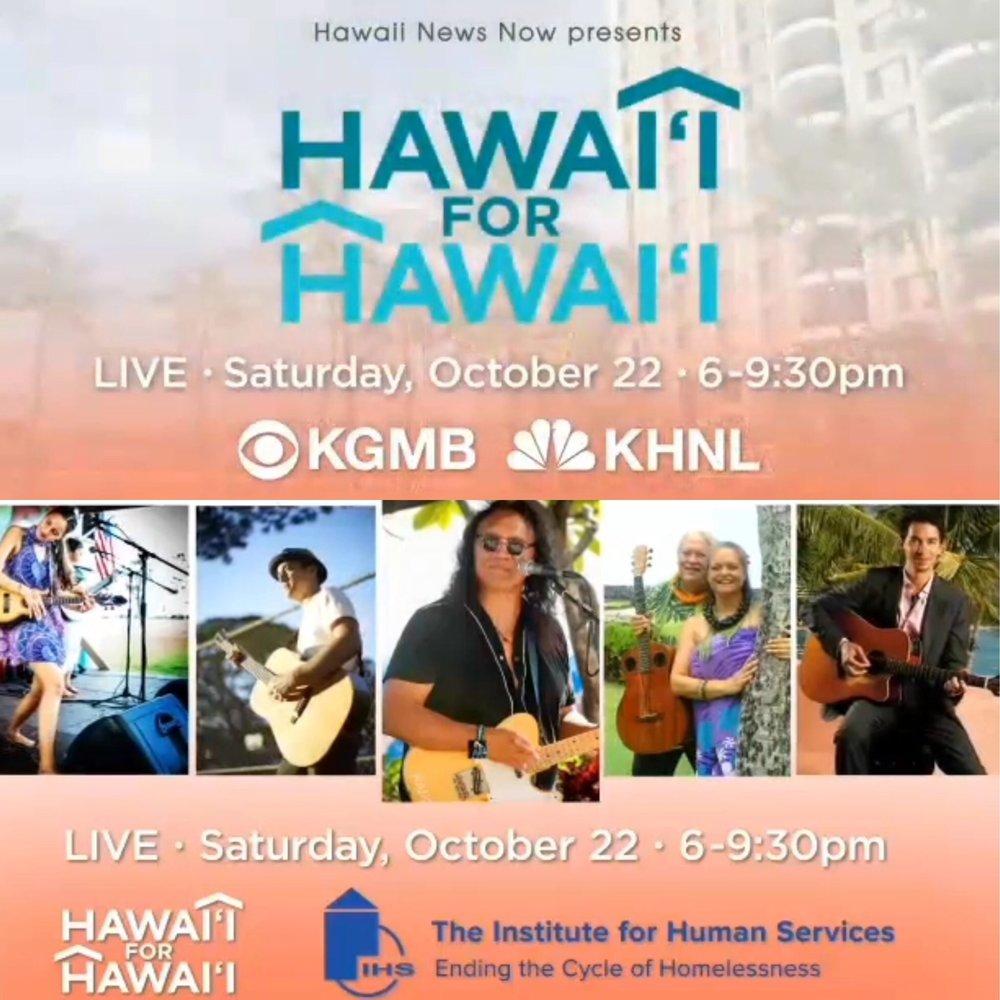 2nd Annual Hawaii For Hawaii Fundraiser And Live Telethon Hawaiian