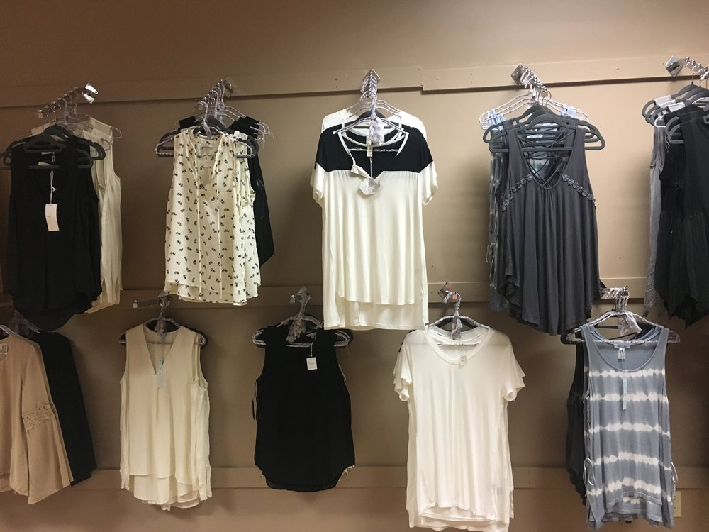 Come try out this season's latest pieces from Lush, Naked Zebra, Ovi, POL, FirstLook, Enti, Dee Elly, and more! -