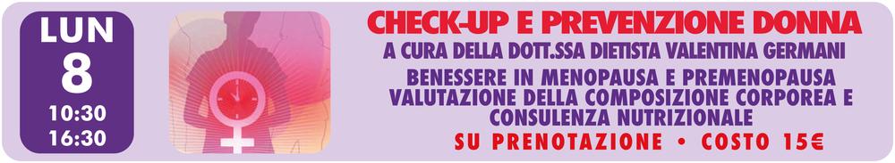 Checkup Prevenzione Donna Centro analisi Piave