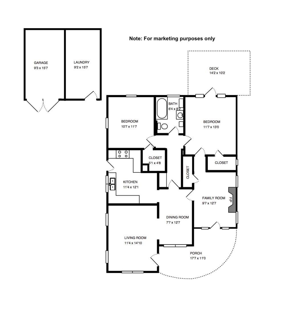 3260 Tyburn Floor Plan For Sale Atwater Village