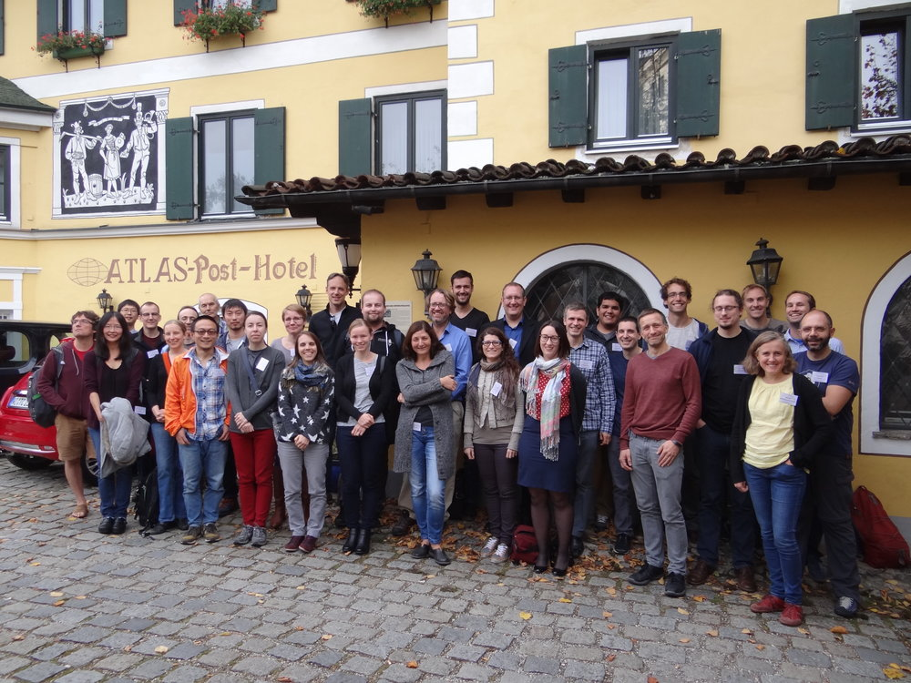"Participants in the ""Three Elephants in the Gamma Ray Sky"" conference, Garmisch-Partenkirchen, Germany, October 2017"