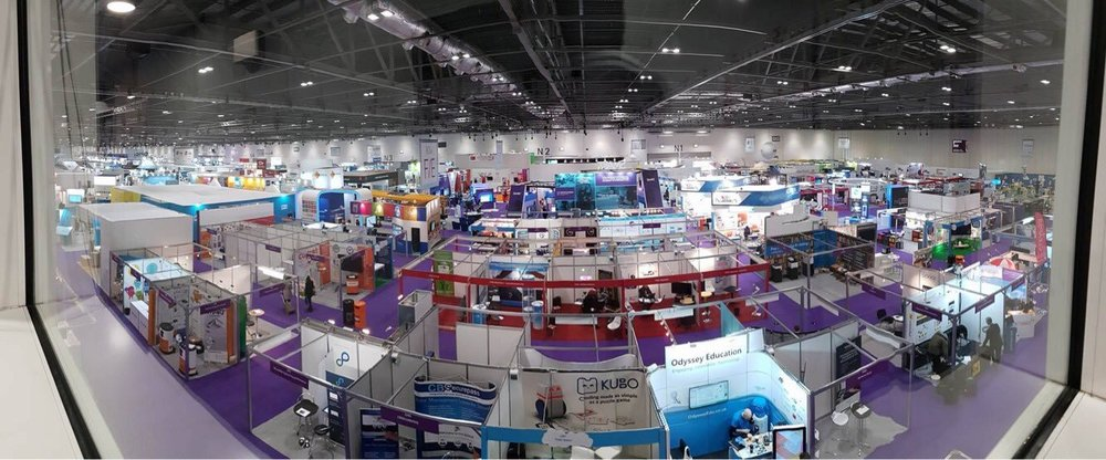 Looking in at the Bett Conference 2017