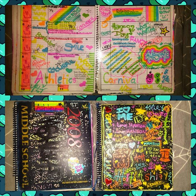 💡 EMBARRASSING LIL FLASHBACK FOR ALL YOU LISTENERS OUT THERE! 💡 We recently spoke about our immensely decorated school diaries, and here is a little snippet from Ashley's 13 year old self 📖 SCHOOL WAS A HARD TIME, RIGHT?!?!?! Tune in this Wednesday for our next episode featuring the legendary @aarnjmes 😁😁😁 #teenagesqueam