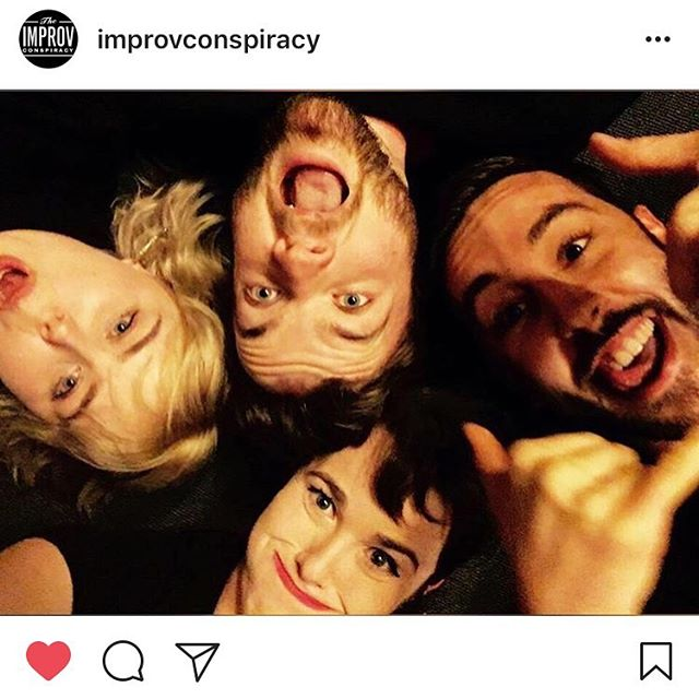 Tomorrow night. 8.30. The Improv Conspiracy. A fond farewell from the Kweenz. Come along and see our Lena off! 🙏🐮🙏🐮🙏🐮🙏🐮🙏