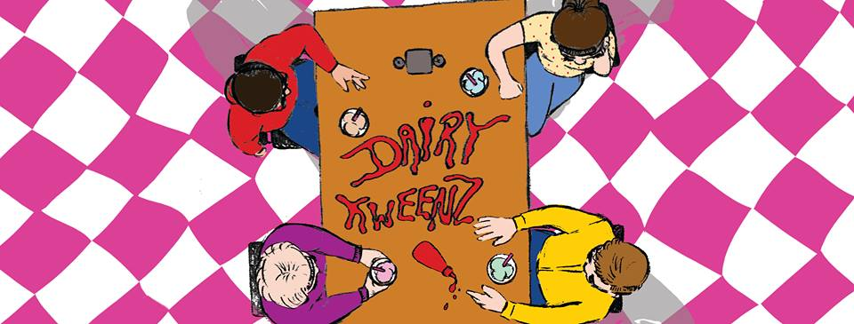 Writer/ Director/ cinematography - All written collaboratively by the Dairy Kweenz, more on their sketch here.Check out The Dairy Kweenz on Facebook and Youtube.