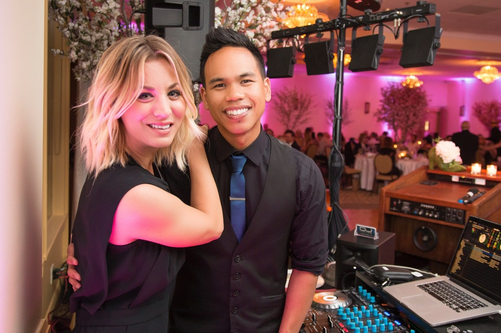 2016 Kaley Cuoco & DJ MOJOE