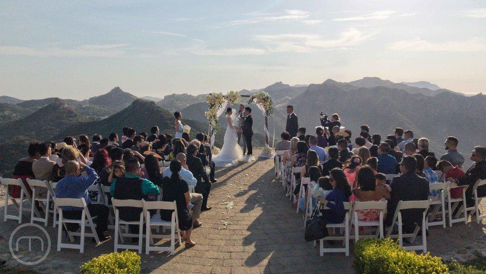 2015 Shutters on the Beach Wedding Ceremony in Santa Monica, CA