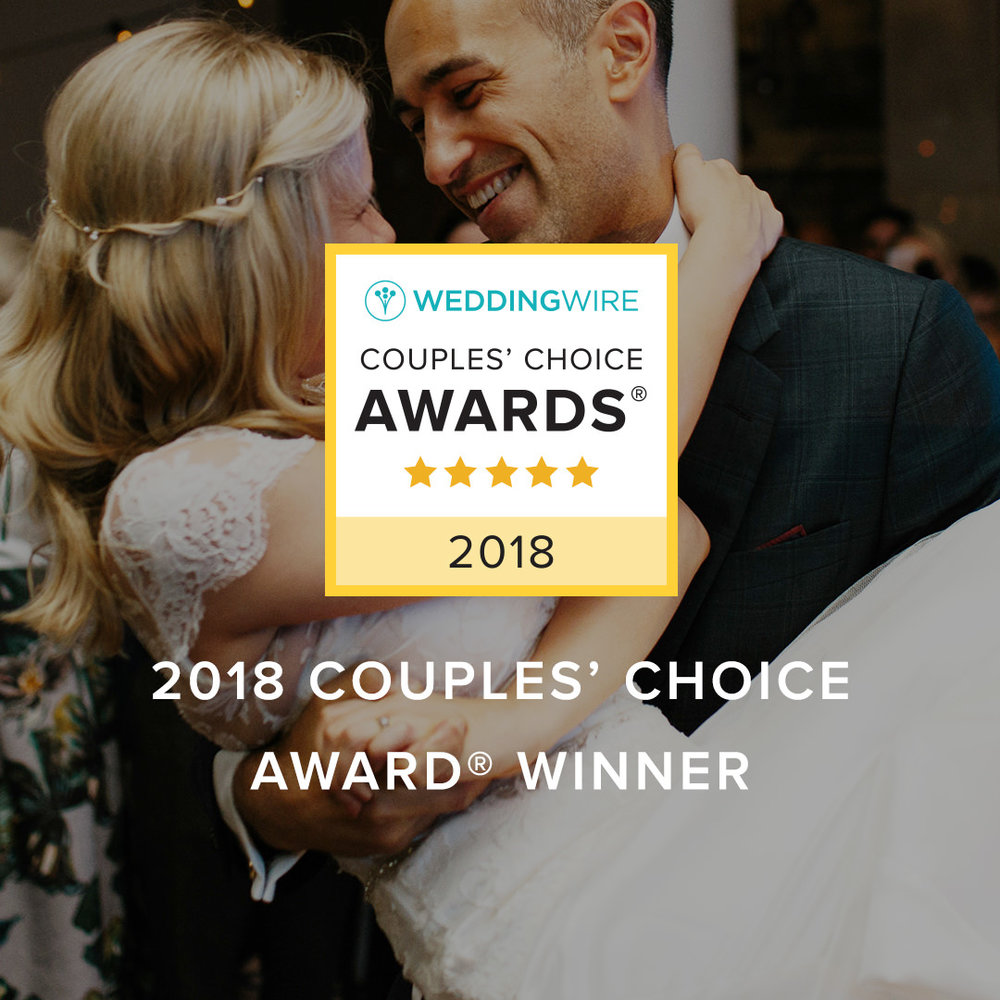 WeddingWire DJ Couples' Choice Award