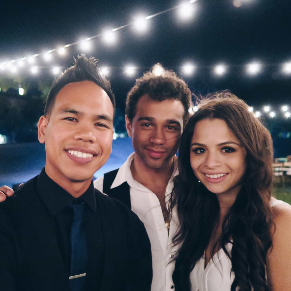Corbin Bleu & Sasha Clements Wedding