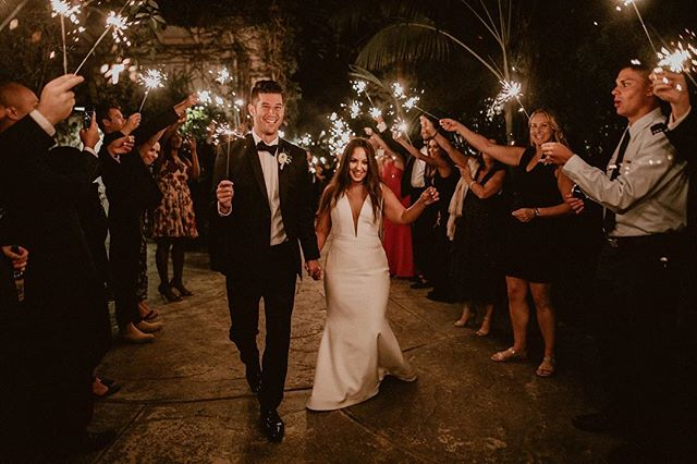 I see the sparks between these two! ✨😉 A beautiful wedding captured by @ginaryanphoto! 🙌📸 Had the pleasure to make people dance and have a blast! 🎉 | September 16, 2018 ⛪️: @hartleybotanica 📋: @belladiaweddingsinc 📝: @ericfschwartz 📸: @ginaryanphoto 🍛: @commandperformancecatering 💐: @violettesflowers 🎧🎤: @dj_mojoe 🙋🏻‍♂️: @dgoletsgo #wedding #mojoeweddings  #weddingsparklers #weddingvibes