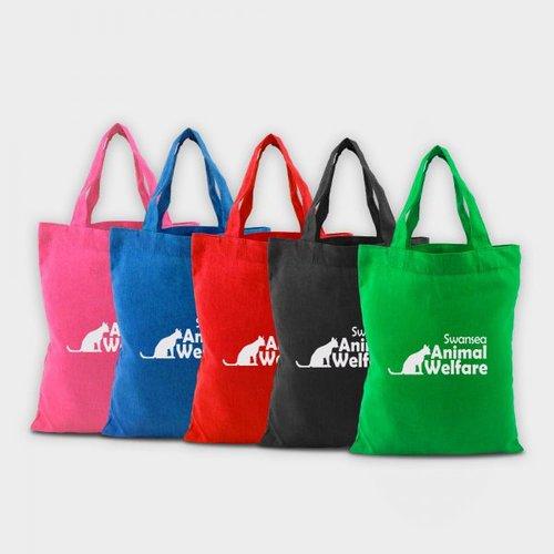 Coloured Cotton Greenwich Bag