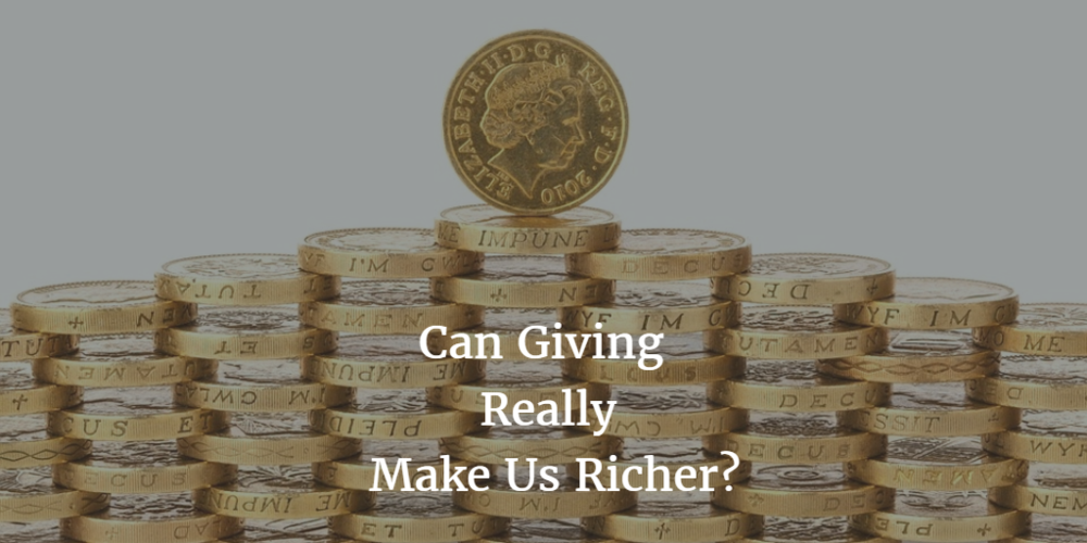 Can Giving Really Make Us Richer?