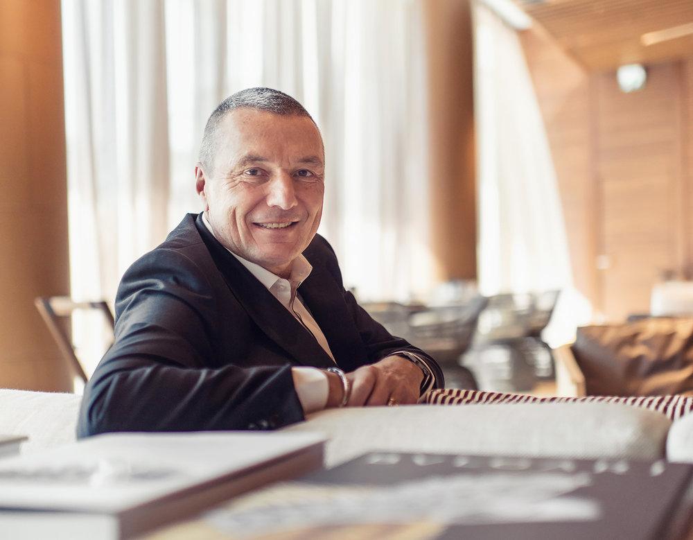 The boss: Bulgari-CEO Jean-Christophe Babin