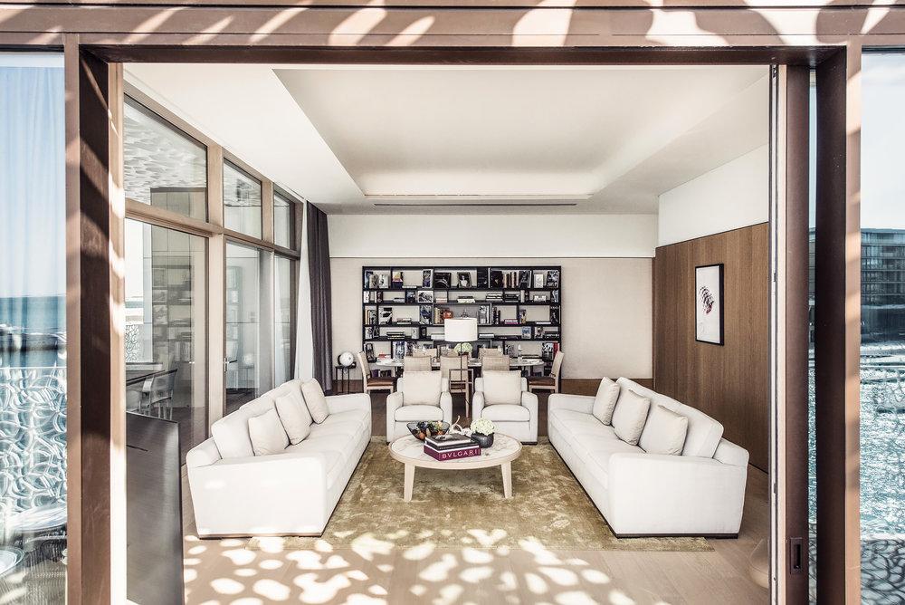 The Bulgari suite