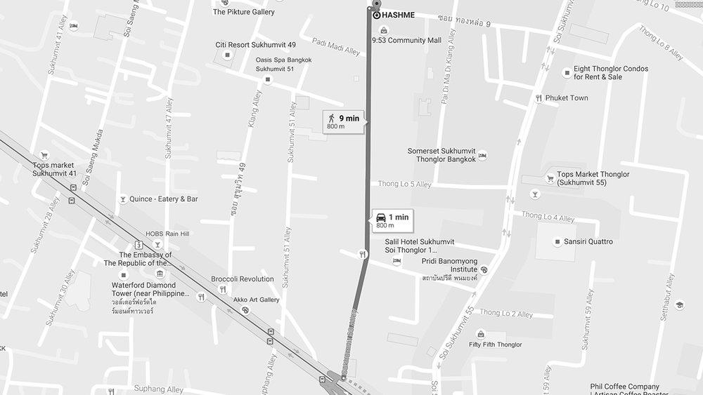 Giờ mở cửa: Thứ 3 đến Chủ Nhật, 11:00 - 23:00 Địa chỉ: Rooftop, 9:53 Community Mall, Thong Lo 9, Bangkok