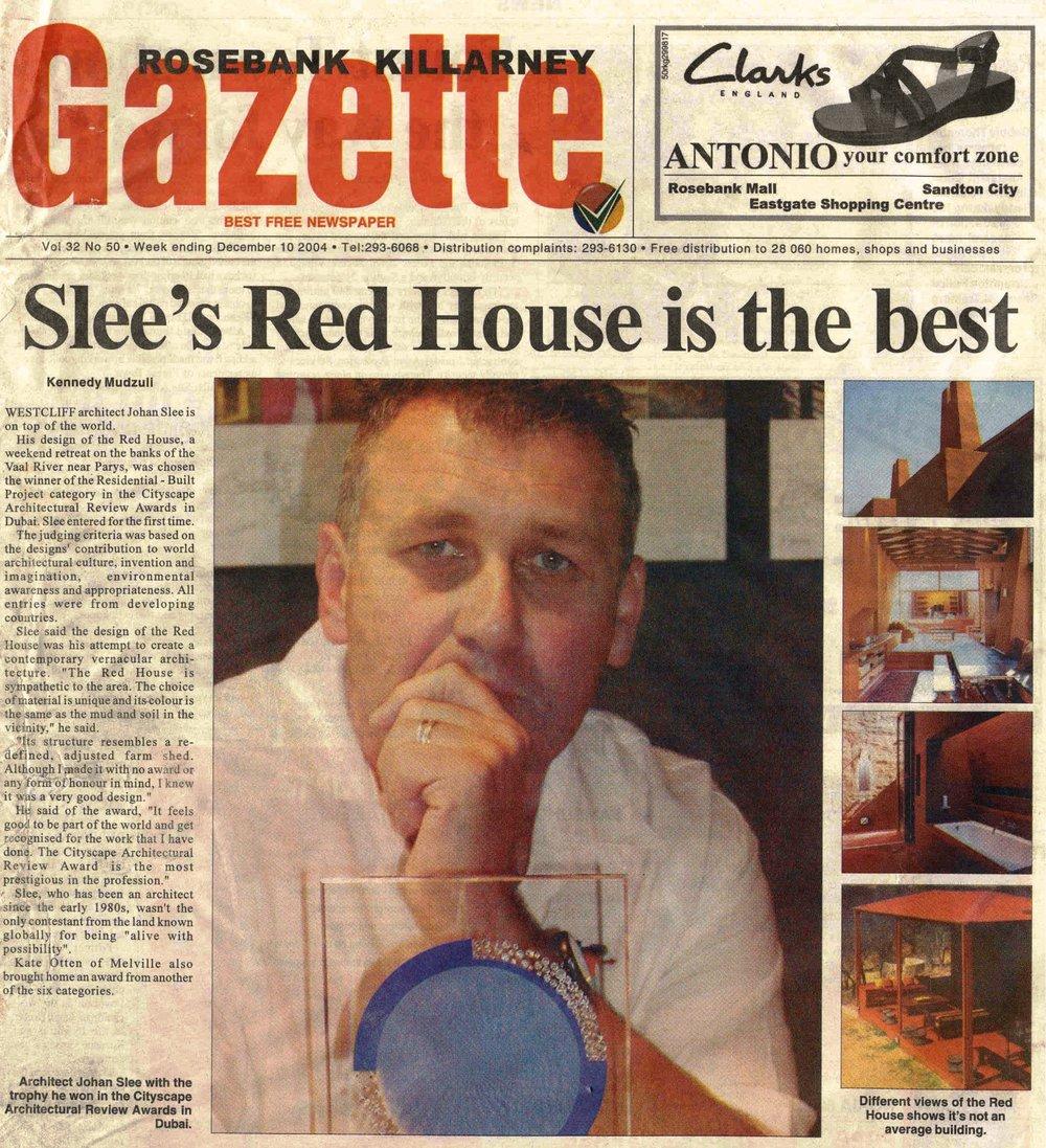 Rosebank Gazette.Vol 32.No 50.Slee's Red House Is The Best.jpg